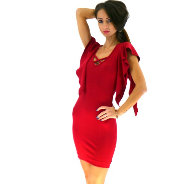 Kleid mit Push Up Effekt