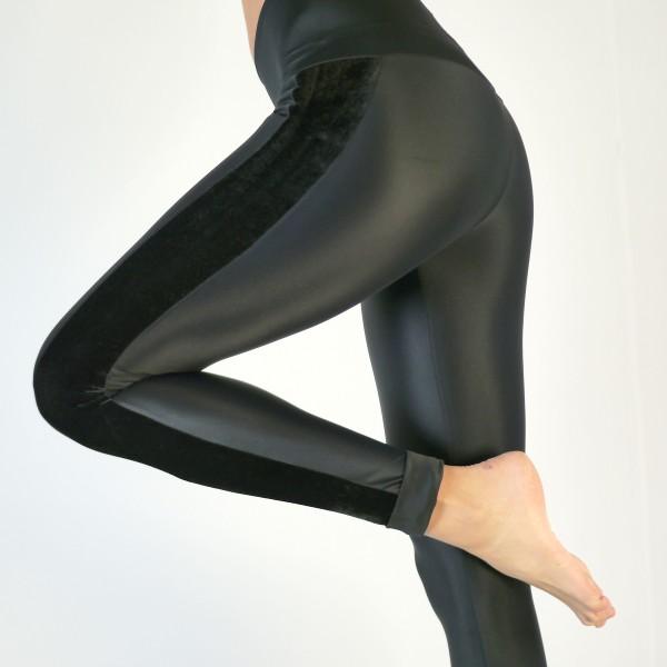 Leggings Lycra und Samt