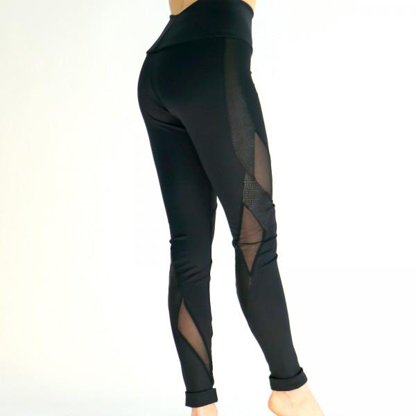 Leggings mit Netz Agnes