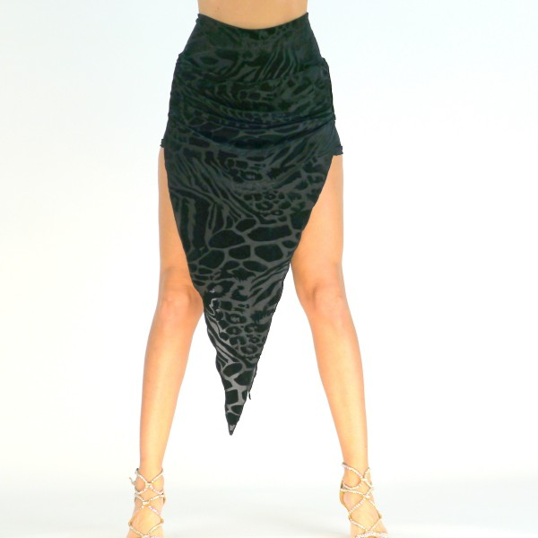 Rock mit integrierter Hose - Halbtransparent