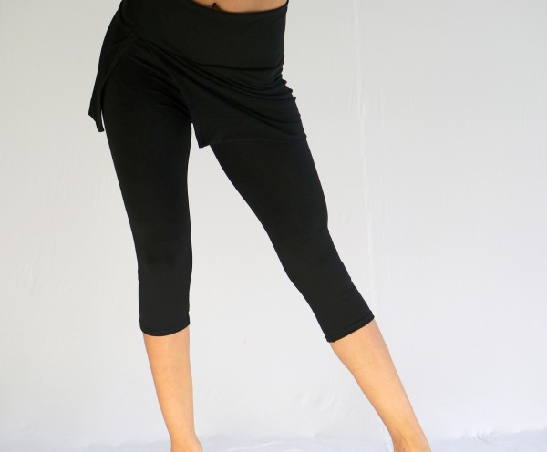 Leggings Capri mit Rock