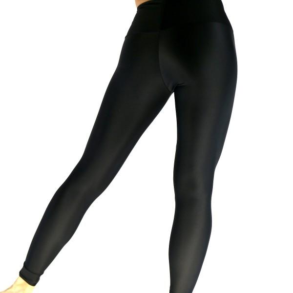 Leggings schlicht schwarz