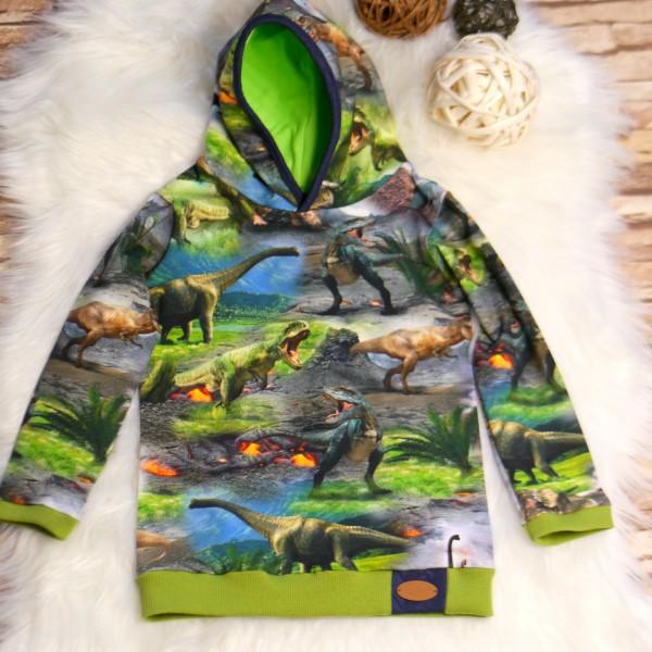 Pullover mit Kapuze, Oberteil Dinosaurier