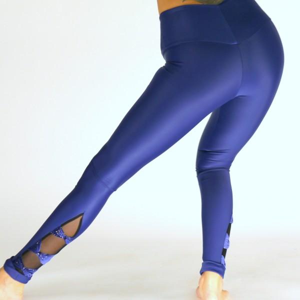 Leggings aus Lycra mit Samt Schleifen