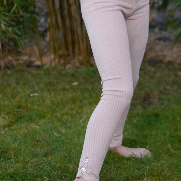 Mädchen Leggings aus Elastischem Cord