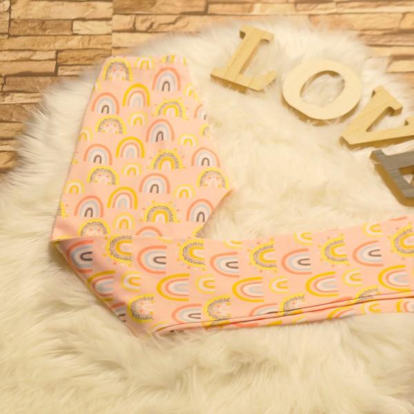 Regenbogen Leggings aus Baumwolle für Baby/ Mädchen
